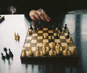 chess, game, and vintage image