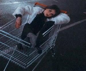 furry, girl, and mall image