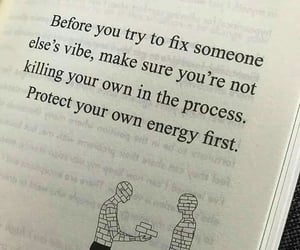 energy, vibes, and own image