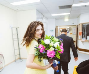 flowers, happy, and music image