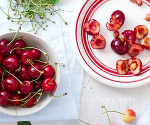 cherry, food photography, and fruit image