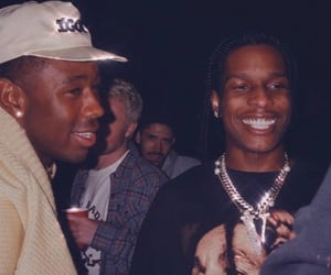 rap, tyler the creator, and asap rocky image