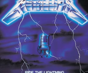 metallica, ride the lightning, and music image