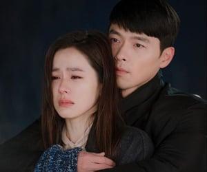 kdrama, son ye jin, and hyun bin image