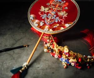 佳冉工作室 jiaran studio, art, and red image