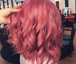 dye, dyed hair, and pink image