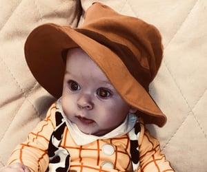 baby, cowboy, and disney image