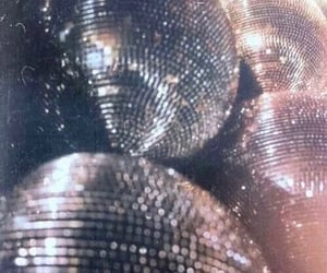 disco, party, and glitter image