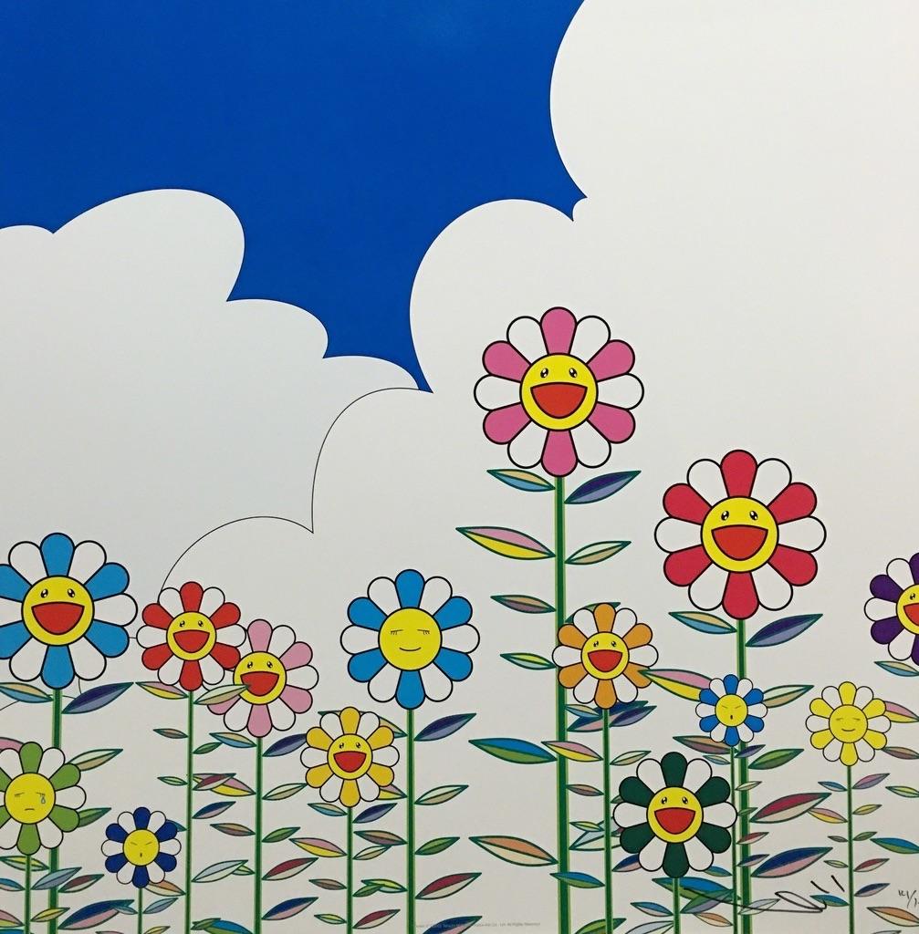 flowers, Takashi Murakami, and hobicore image