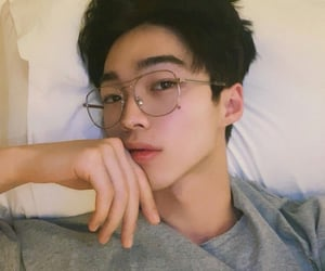 aesthetic, glasses, and model image
