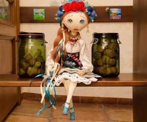 etsy, fabric doll, and custom gift image
