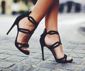 high heel, style, and high heels image
