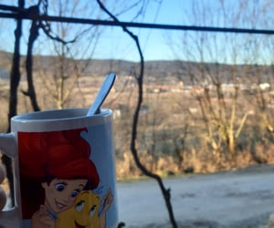 cafe, cottage, and cup image