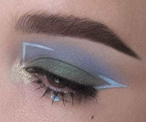 blue, future, and make up image