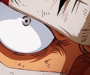 anime, eye, and gif image