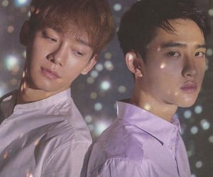 boys, korean, and Chen image