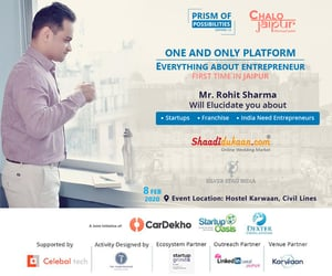 startups, prism of possibilities, and chalo jaipur image