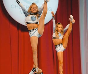 base, cheerleader, and flexibility image