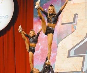 cheer, cheerleader, and flexible image