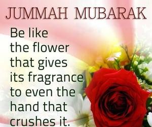 islam, quote, and jummah mubarak image