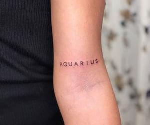 aquarius, tattoo, and tatuaje image