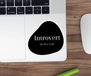 introvert, personality, and psychology image