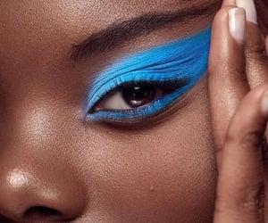 azul, maquillaje, and belleza image