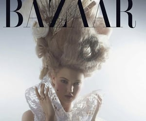 editorial, fashion, and karl lagerfeld image