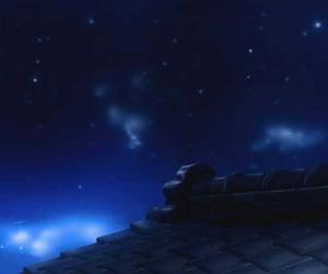 anime, background, and night image