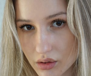 beauty, model, and blown eyes image