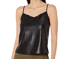 Armani, dress, and leather top image