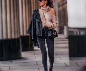 blogger, skinny jeans, and fashion image