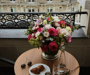 flowers, paname, and paris image