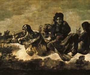 art, painting, and goya image