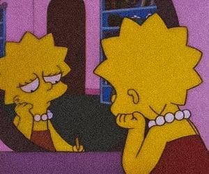 gif, sad, and simpsons image