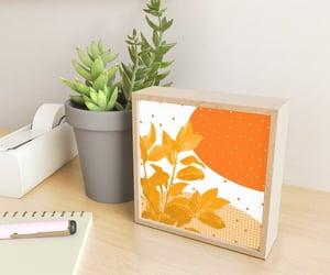 decoration, orange, and sales image