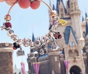 belle, bracelet, and disney land image