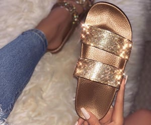 accessories, girly, and sandals image