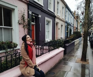 london, pink, and wanderlust image