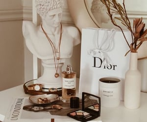 dior, makeup, and aesthetic image