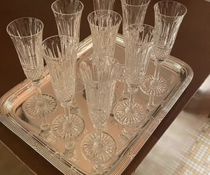 fashion, style, and wine glasses image