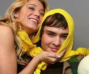 blake lively, ed westwick, and friendship image
