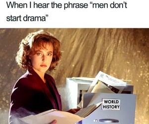 feminine, funny, and man image