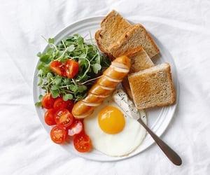 food, breakfast, and toast image