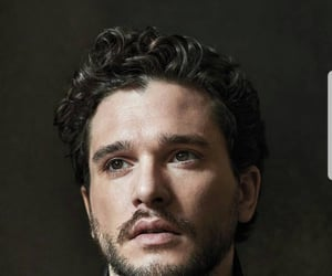 game of thrones, jon snow, and kit harrington image