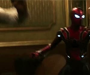 gif, spiderman, and Marvel image