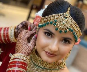 bangles, henna, and jewellery image