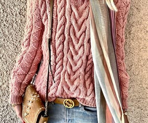winter fashion, autumn fashion, and pink fashion image