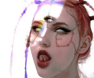 aesthetic, alien, and cyberpunk image