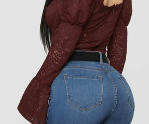 butt, latina, and thick image